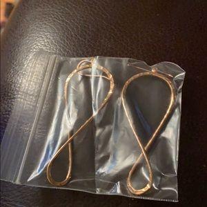 Copper toned earrings